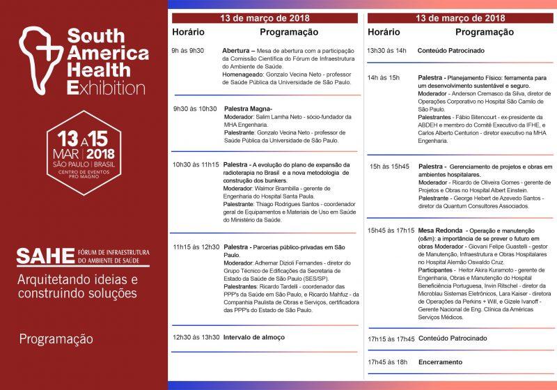 Comitê Científico misto coordena Fórum de Infraestrutura do Ambiente de Saúde; confira cronograma 2