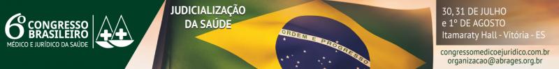 VI Congresso Brasileiro Médico Jurídico da Saúde