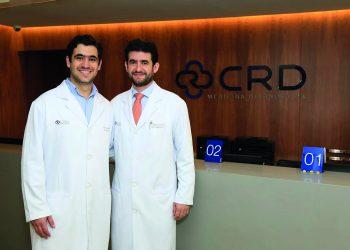 Renato Tavares Daher, diretor Administrativo do CRD e Ricardo Tavares Daher, diretor Técnico do CRD