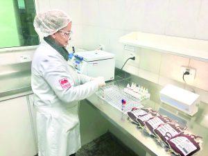 Resultados melhores, riscos menores no Hemocentro Transfusão 3