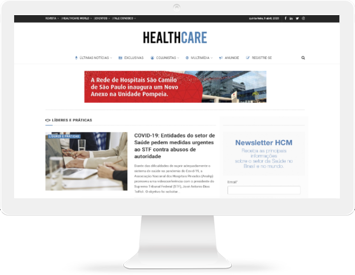 Anuncie | Plataforma Healthcare Management 1