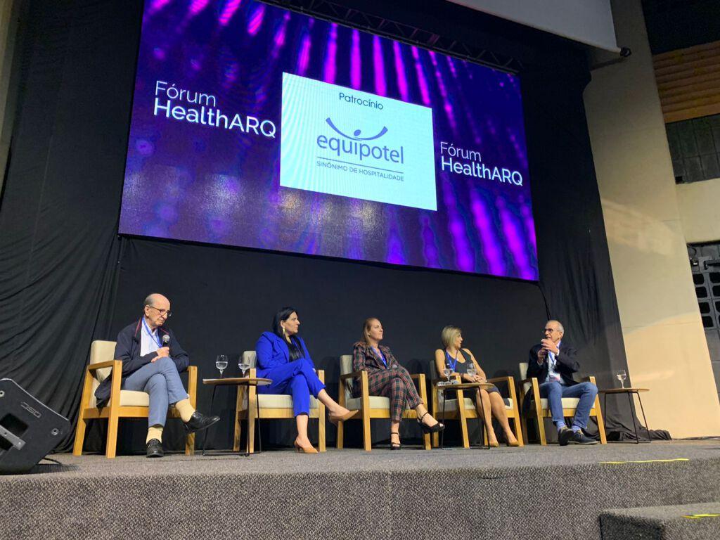 Momentos de conhecimento e homenagens marcam Fórum+Prêmio HealthARQ 2021 1