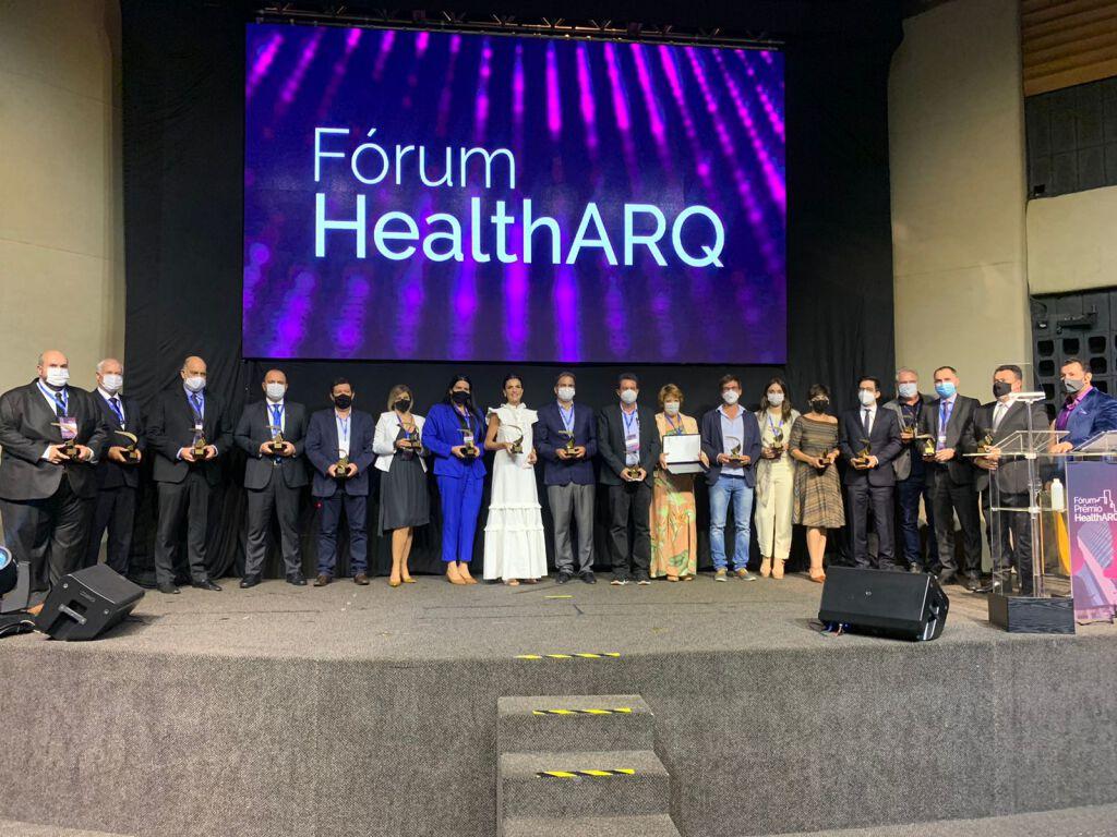 Momentos de conhecimento e homenagens marcam Fórum+Prêmio HealthARQ 2021 4