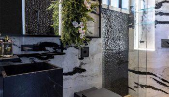 6 banheiros com pouca metragem, mas cheios de estilo nas decorações 4