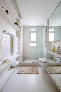 6 banheiros com pouca metragem, mas cheios de estilo nas decorações 1