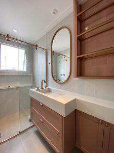 6 banheiros com pouca metragem, mas cheios de estilo nas decorações 5