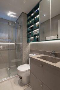 6 banheiros com pouca metragem, mas cheios de estilo nas decorações 8