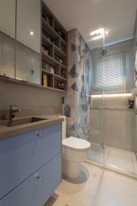 6 banheiros com pouca metragem, mas cheios de estilo nas decorações 7