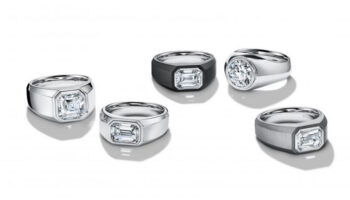 Tiffany & Co. apresenta seu primeiro anel de noivado masculino: The Charles Tiffany Setting 8