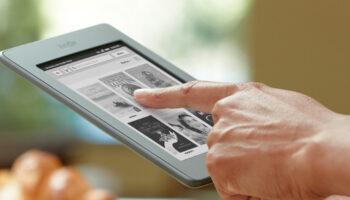 Kindle oferece uma biblioteca na palma da mão 4